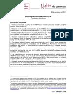 Encuesta de Estructura Salarial 2014