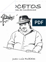 Juan Luis Rubiales - Notas de Conferencia - Bocetos