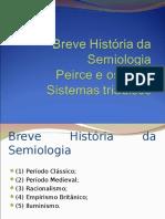 Breve Historia Da Semiologia e Peirce