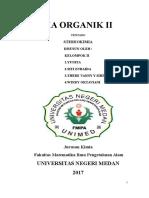 makalah organik stereokimia