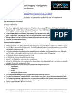 Corrosion Management Course Summary Module 2