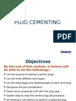 5) Plug Cementing