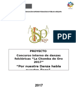 Proyecto Chomba de Oro 2017-Corregido Ultimo