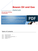 Michael Bowen Oil and Gas Drilling Investment