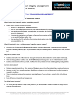 Corrosion Management Course Summary Module 5