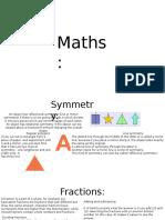 Maths Powerpoint