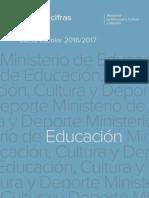 Datos y Cifras Educación 2016-2017