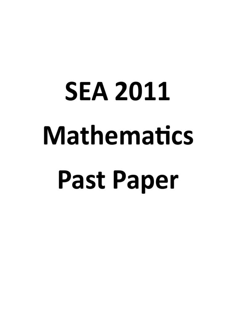 SEA-2011-Maths-With-Answers.pdf