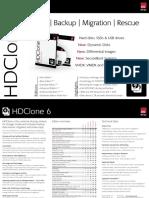 HDClone 6 Data Sheet
