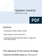 Power System Control Lecture Notes