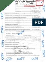 SAMPLE NMD Certificate