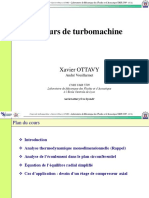 Cours Turbomachines