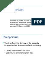 Puerperium Franzblau n Witt k Normal and Abnormal2166