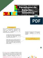 El Paradigma de Relación - Sistemática