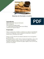 Bolachas de queijo Parmesão e Tomilho