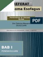 PPT Referat CA Esofagus