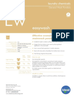 Easywash Product Sheet
