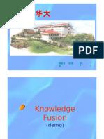 knowledge fusion