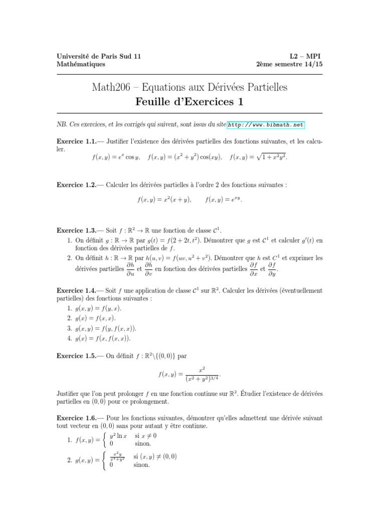 Exercices1 Pdf Topologie Espace