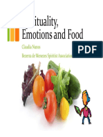 Spirituality Emotions and Food