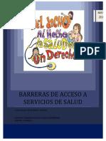 Barreras de Acceso Mayo Barrios Unidos