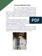 Inmaculada Virgen de Fátima