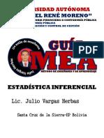 Estadistica Inferencial de Julio Vargas Herbas