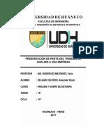 Trabajo de Analisis y Diseño de Sistemas