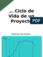 6. El Ciclo de Vida de Un Proyecto