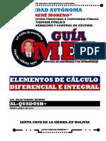 Elementos de Calculo Diferencial e Integral