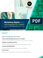 e-Book Nos 3 Marketing Digital Para Turismo