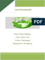 GREEN PROCUMENT.docx