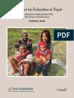 NepalFederalism FOF Guidebook