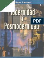 Zidane Zeraoui - Modernidad y Posmodernidad