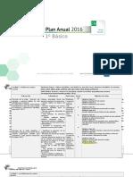 Planificacion Anual Ciencias Naturales 1basico 2016