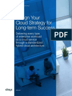 Design You Cloud Strategy for Long Term Success