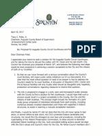 Staunton courthouse response