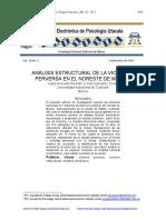 Análisis Estructural de La Violencia Perversa en El Noreste de México