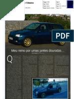 """RENAULT CLIO WILLIAMS NO """"MOTOR CLÁSSICO"""""""