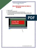 Insertar Una Presentacion de Prezi a Tu Blog