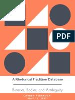 LT_Rhetorical Tradition Database