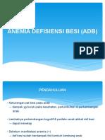 Anemia Defisiensi Besi (Adb) r
