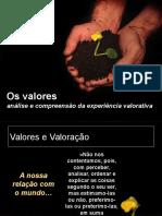 Valores e Valoração