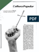 Artigo - CEBs e Cultura Popular - Comunicações 44 Mariz, Cecilia