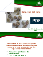 Defectos del Café