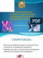 Clase 7 Diseno Metodologico. Alcance de La Investigacion