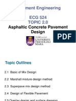 5. Topic 2-Asphaltic Concrete Pavement Design-Week 7-9