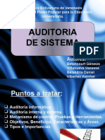 Auditoria de Sistema (Expo-diapo)
