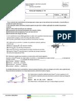 Ficha Física 10º Ano