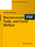 Michihiro Ohyama (Auth.)-Macroeconomics, Trade, And Social Welfare-Springer Japan (2016)